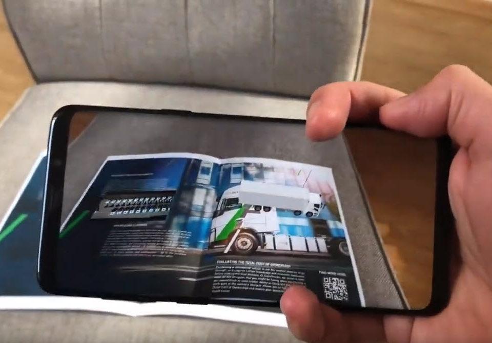 AR catalog