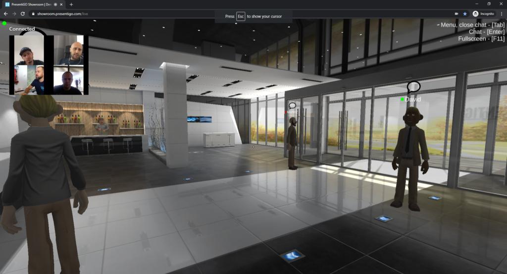 B2B Virtual Showroom